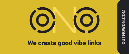 Out Now On - Creating Good Vibe Links